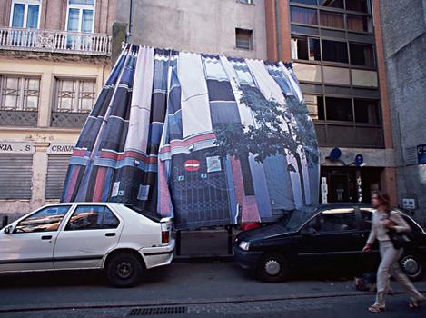 Simone Decker: Curtain Wall