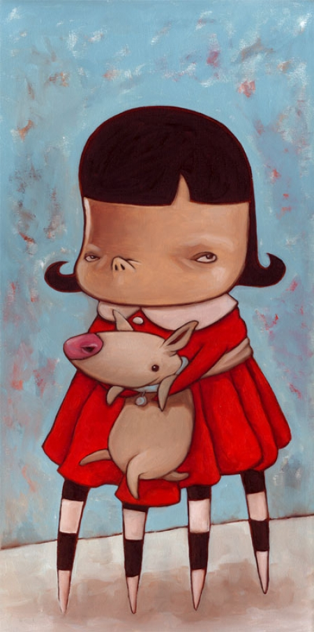 102-girl-in-the-red-dress-with-dog
