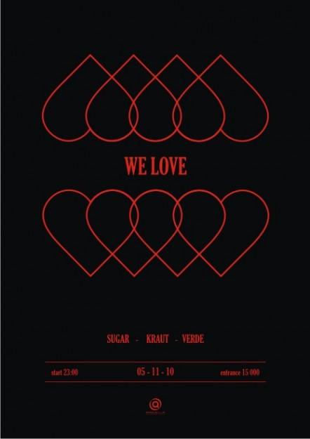 WE LOVE @ Saquella Espresso Club
