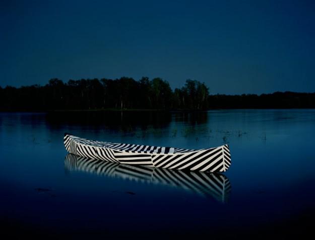 Dazzle Canoe