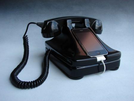 iRetrofone Classic — Black