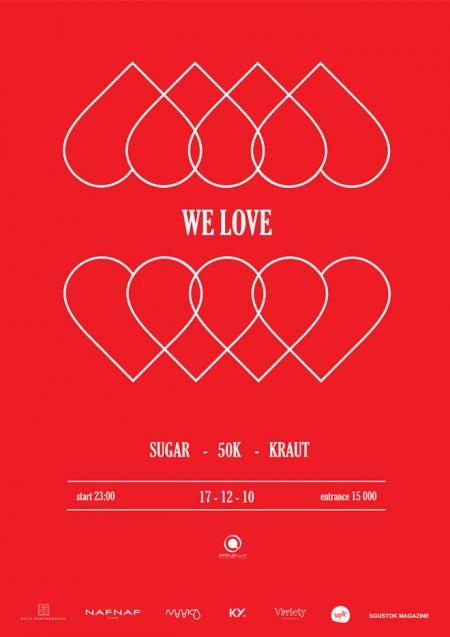 We Love @ Saquella 17/12/2010