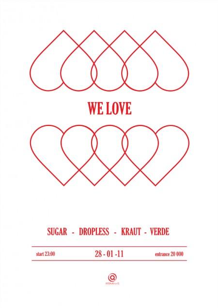 WE LOVE @ Saquella 28.01.2011
