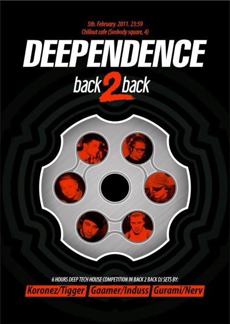 Deependence: back 2 back