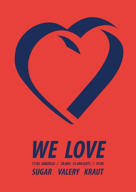 11.02 We Love @ Saquella