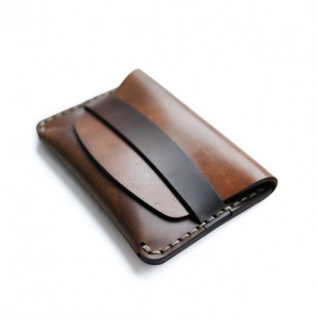 Cordovan Flap Slim Wallet