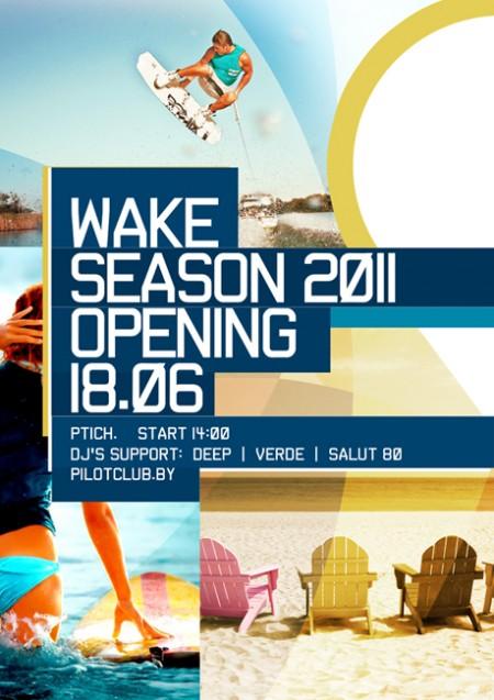 18.06 Wake Season 2011 Opening @ Lake Ptich
