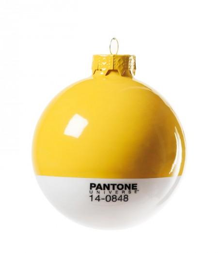 Pantone Xmas ball 14-0848