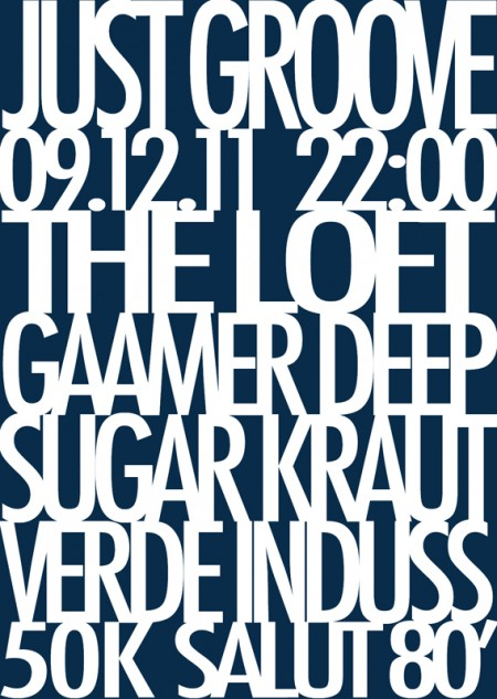 09/12/11 Just Groove @ The Loft