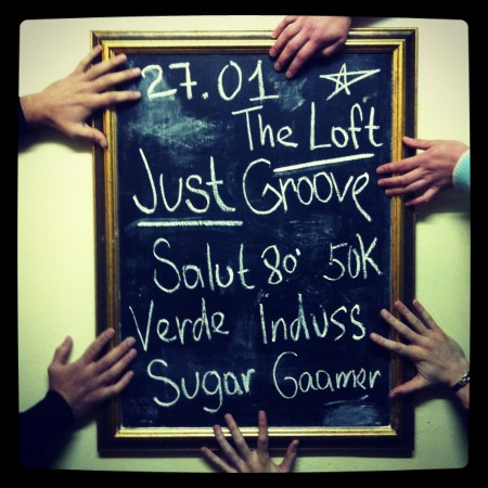 27/01/2012 Just Groove @ The Loft