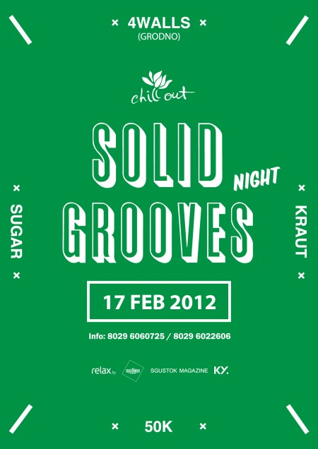 17/02 SOLID GROOVES NIGHT @ CHILL OUT CAFE