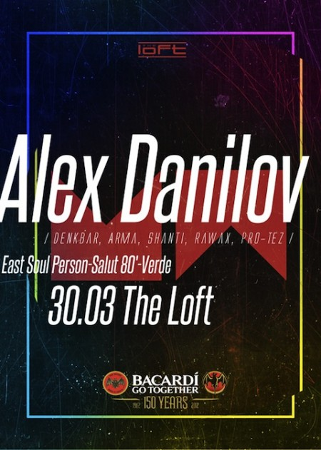 30/03/2012 Alex Danilov @ The Loft