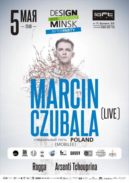 05/05/2012 Marcin Czubala (live, PL) @ The Loft