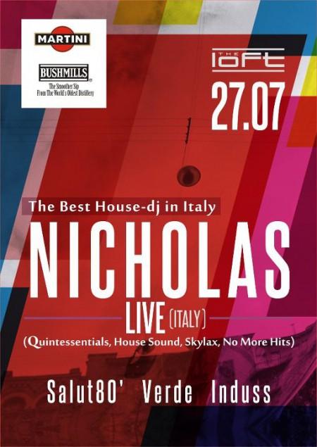 27/07/2012 Nicholas (IT) @ The Loft
