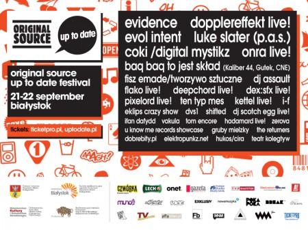 21-22/09/2012 Original Source Up To Date Festival 2012 @ Bialystok, Poland