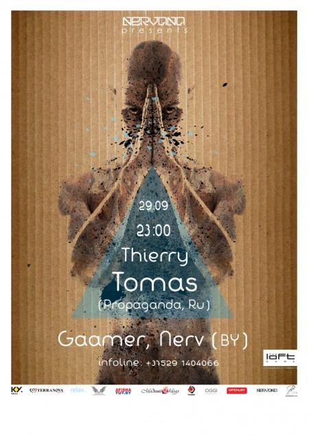 29/09/2012 Thierry Tomas (RU) @ The Loft