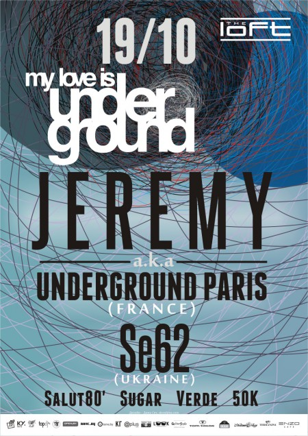 19/10/2012 My Love Is Undergroud @ The Loft