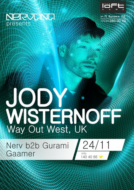 24/11/2012 Jody Wisternoff (UK) @ The Loft