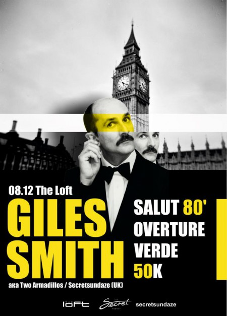 08/12/2012 Giles Smith / Secretsundaze (UK) @ The Loft