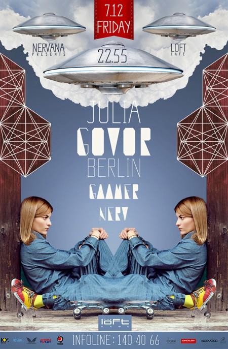 07/12/2012 Julia Govor (RU) @ The Loft
