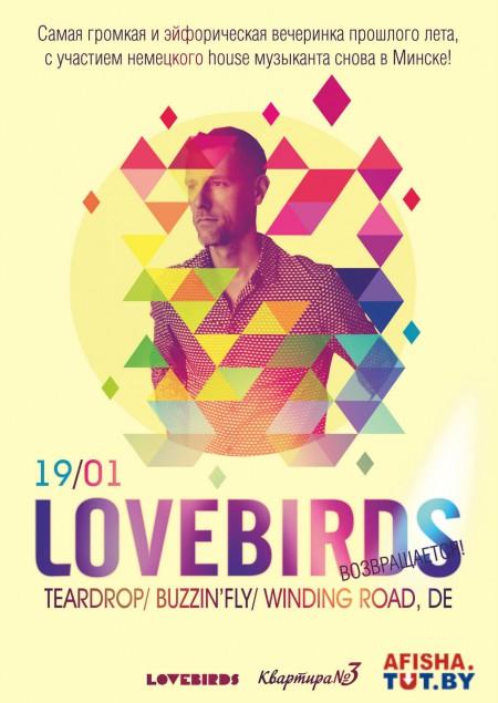 19/01/2013 Lovebirds (DE) @ Квартире №3