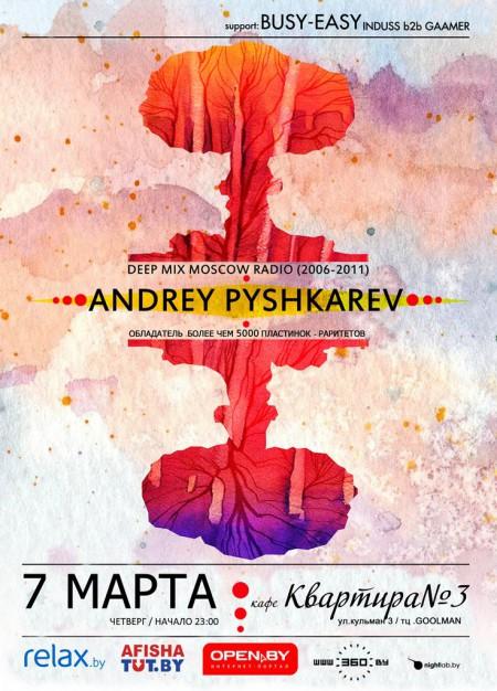 07/03/2013 Andrey Pushkarev (RU) @ Квартира №3