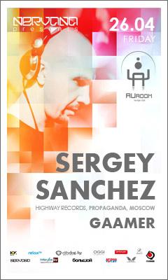 26/04/2013 Sergey Sancez (RU) @ AUroom