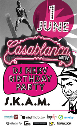 01/06/2013 DJ Nerv B-day Party @ Casablanca