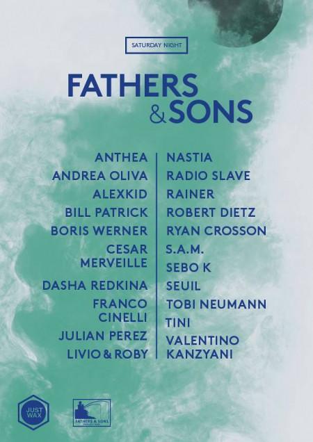 Fathers&SonsNewLine-up