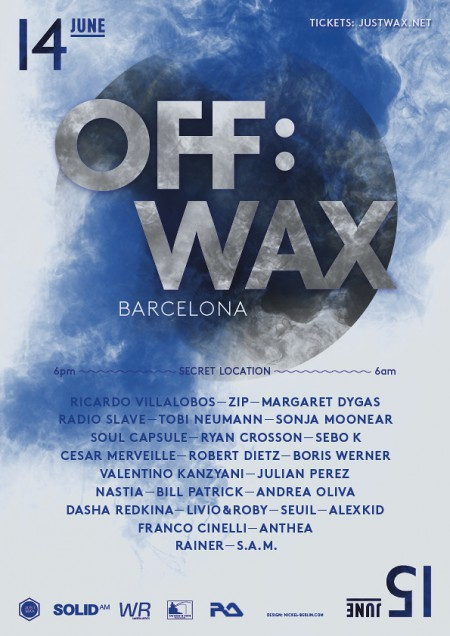 14-15/06/2013 OFF:WAX @ Barcelona (Up and Down Club)