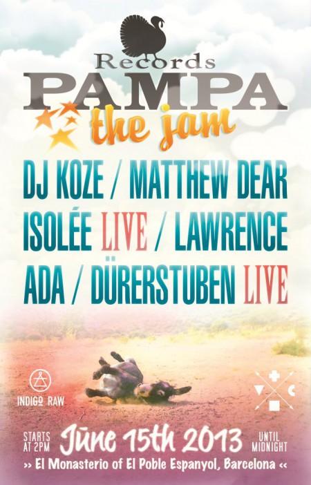 15/06/2013 Pampa Records The Jam @ Barcelona (Poble Espanyol)
