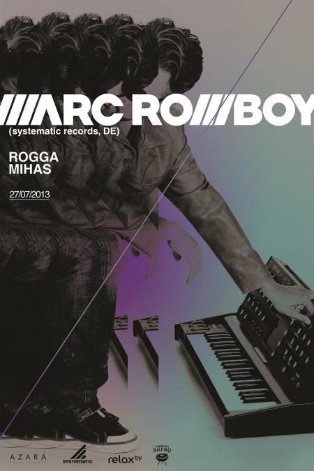 27/07/2013 Marc Romboy (DE) @ BarBQ
