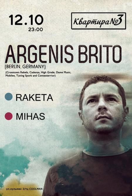 12/10/2013 Argenis Brito (DE) @ Квартира №3