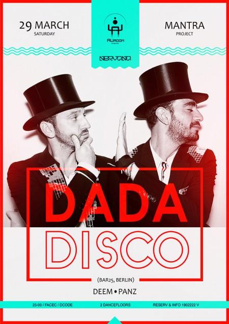 29/03/2014 Dada Disco (FR) @ Auroom