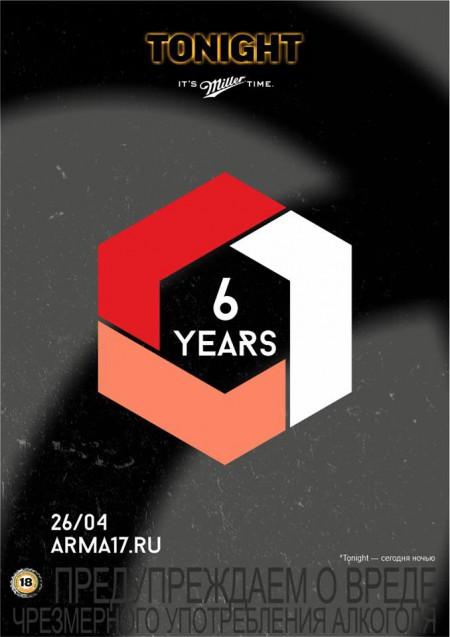 26/04/2014 Arma 6 Years @ Arma17