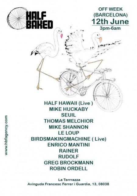 12/06/2014 Half Baked Showcase @ Barcelona