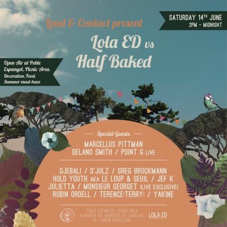 14/06/2014 Lola Ed vs Half Baked Showcase @ Barcelona