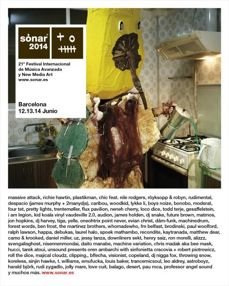 Sonar 2014 @ Barcelona cover