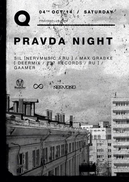 04/10/2014 PRAVDA NIGHT @ Manon Bar