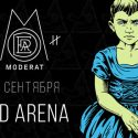 14/09/2016 Moderat, Telefon Tel Aviv & Tyoma @ Bud Arena, Moscow