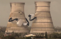 Ecotricity: Collapsing Cooling Towers
